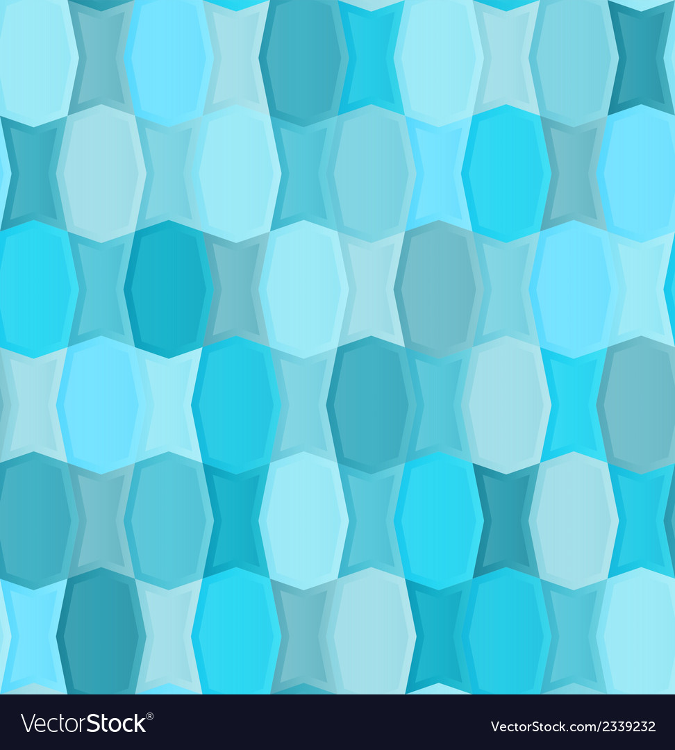 Seamless pattern seems of the two types of tiles vector