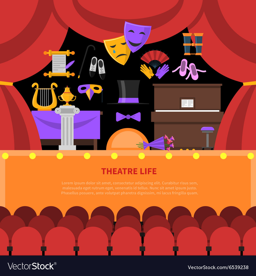 Tre life concept background vector