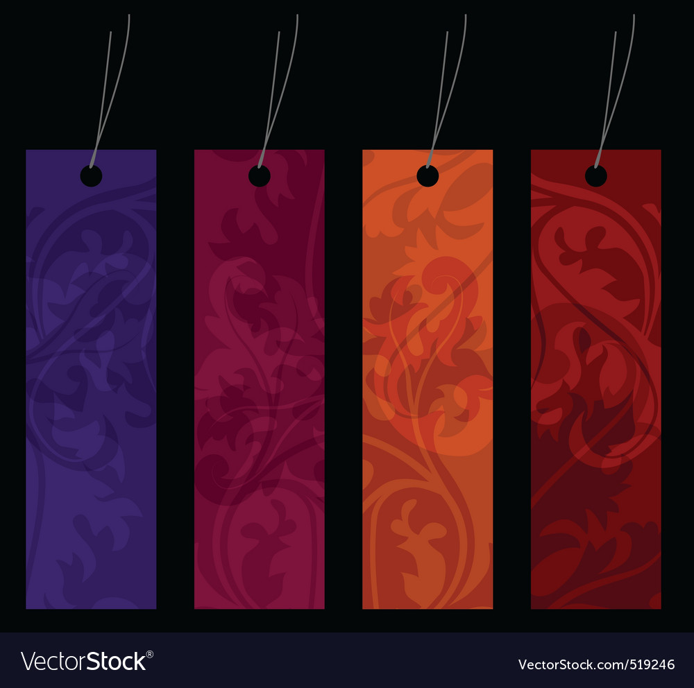 Shopping tags for any seasons vector