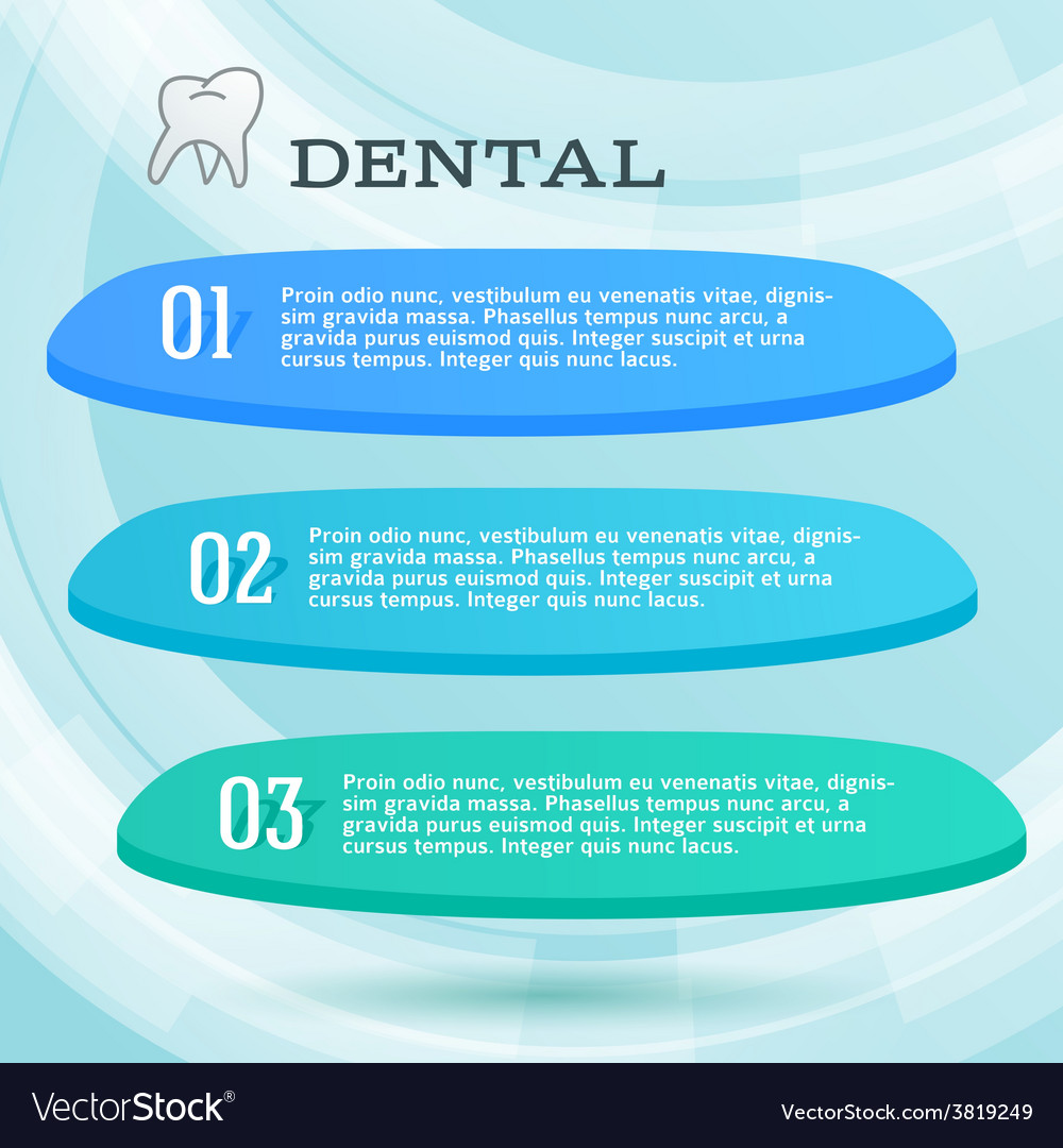 Ads dentist toothpaste leaflet vector