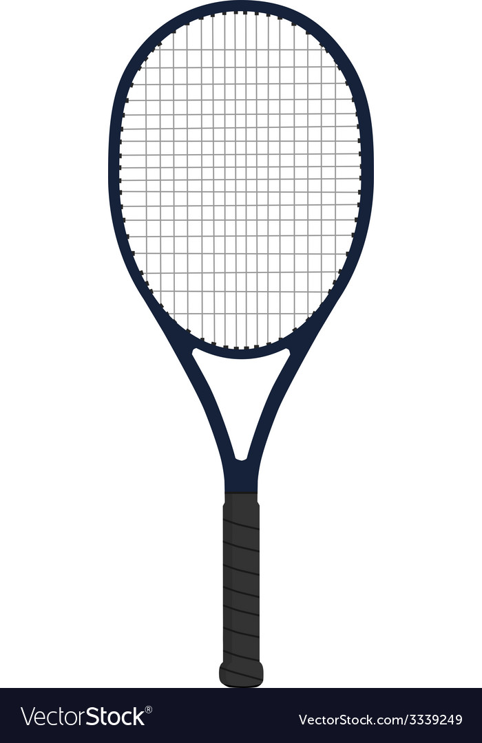 Racket tennis vector