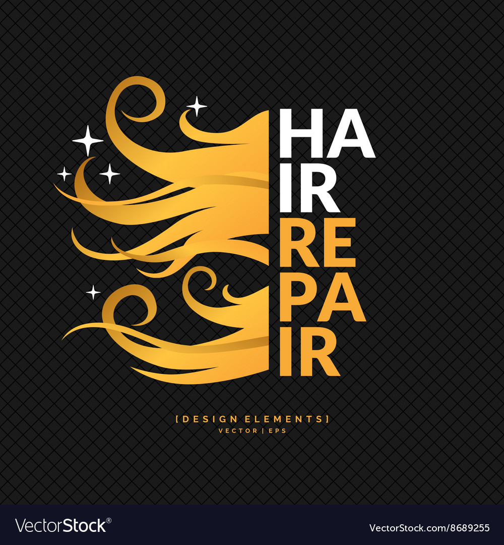 Hair repair vector