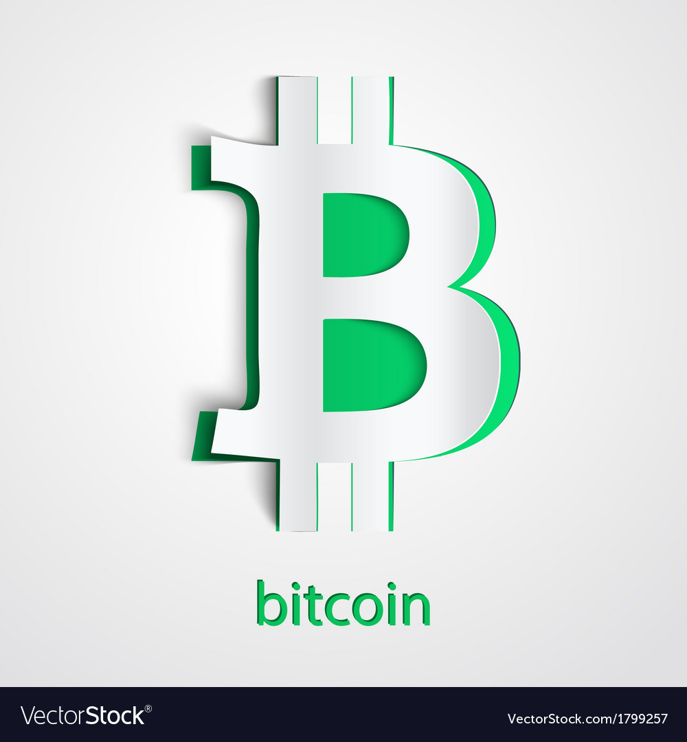 Background of financial currency bitcoin vector