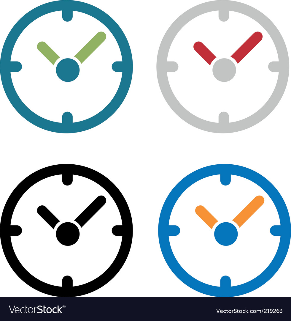Simple clock vector