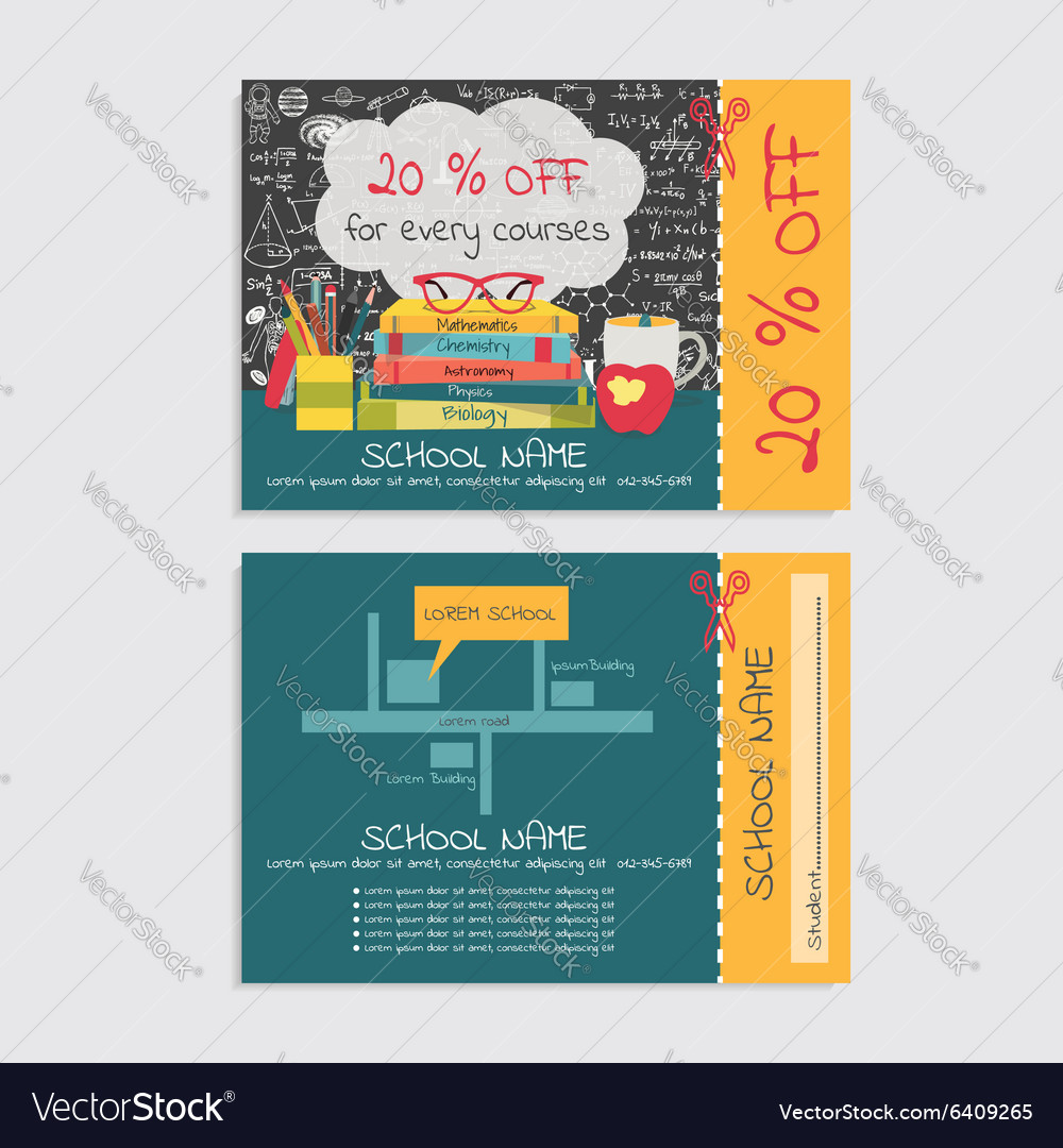 School voucher vector