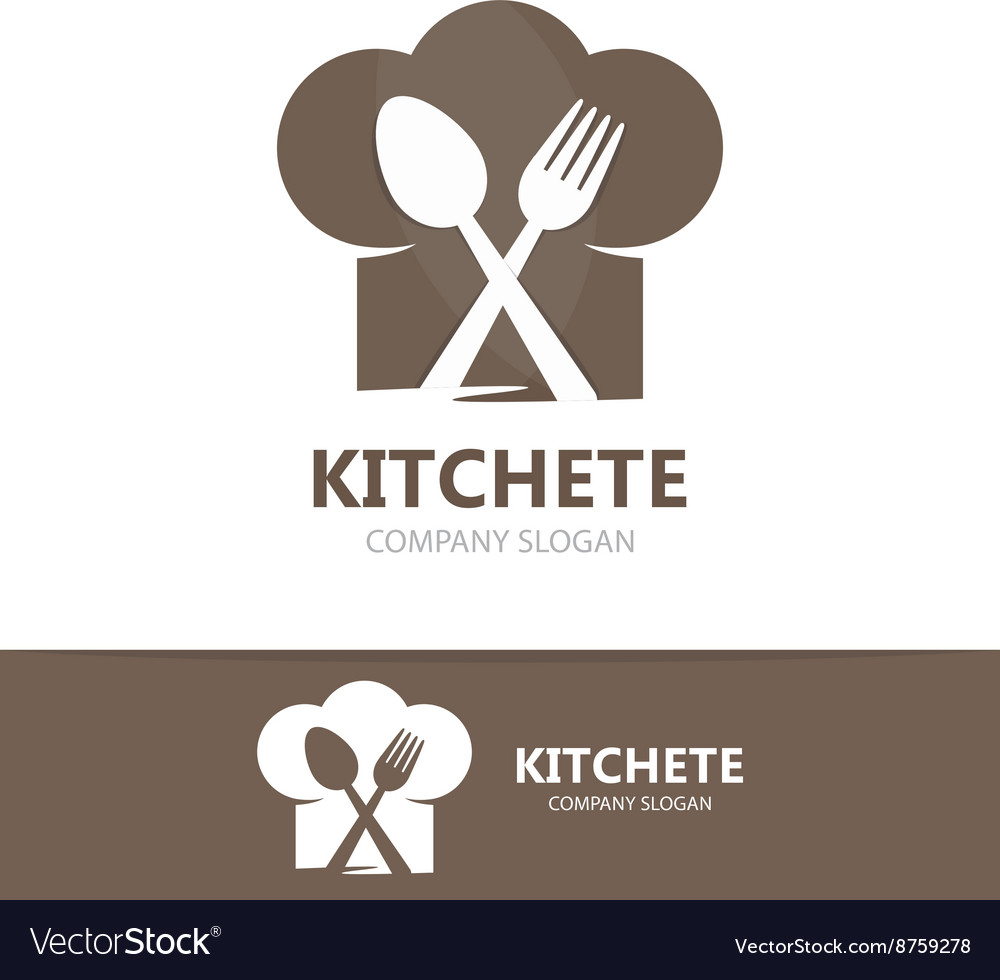 Cooking logo template vector