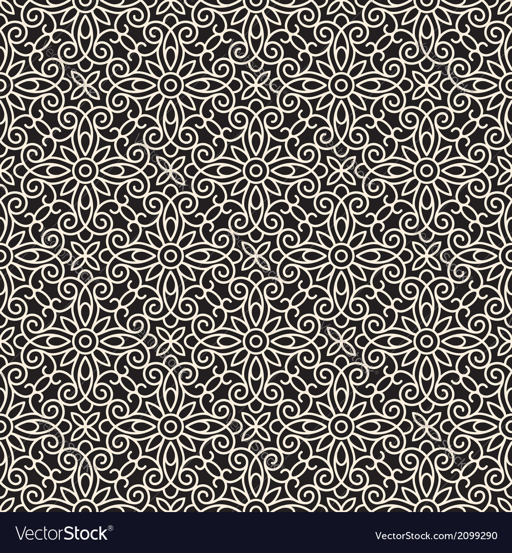Abstract lacy pattern vector