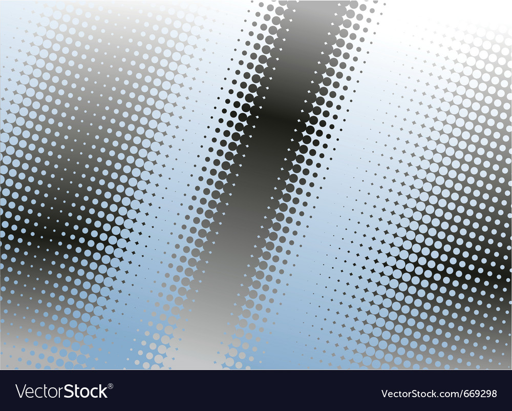 Halftone dots background vector