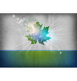 background autumn grey blue green vector image vector image