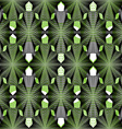 Continuous pattern with graphic lines decorative vector image