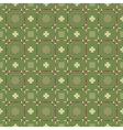 seamless pattern with spears arrows and symbols vector image