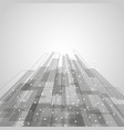 abstract gray rectangles technology background vector image vector image