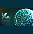 digitally generated image big data complex vector image