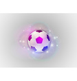 Football abstract ball vector image