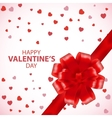 Valentines Day Card Valentine background Gift vector image