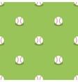 Baseball Seamless Pattern Sport Background vector image