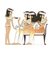 ancient egypt woman vector image vector image