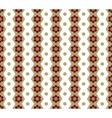 Honeycomb and circle seamless pattern vector image