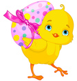 Easter Chick vector image