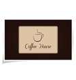 Coffe house vector image