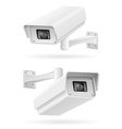 surveillance cameras 06 vector image vector image