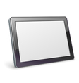 Blank tablet vector image vector image