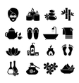 set of icons for Spa vector image