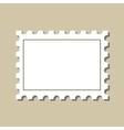 stamp postmark template vector image