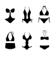 bikini bathing suit swim suit vector image