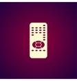 remote control icon vector image
