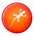 Lizard icon flat style vector image