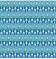 garden seamless pattern vector image vector image