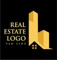 Logo Real Estate Construction vector image