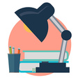 Office work icon vector image