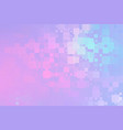 pale purple pink turquoise glowing various tiles vector image