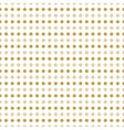 Beige and gold polka dots vector image