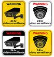 surveillance cameras 09 vector image