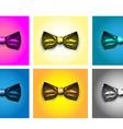 Tie bow vector image