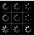 progress indicators vector image