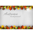 background autumn text vector image vector image