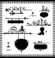 antique signboard vector image vector image