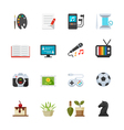 Hobbies Icons vector image
