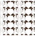 Animal farm pattern background vector image