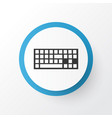 Keyboard icon symbol premium quality isolated vector image
