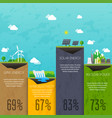 different types of electricity generation vector image
