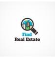 Find real estate vector image