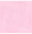 Pink Natural Cotton Fabric Textile Background vector image