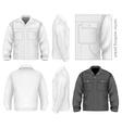 Men work jacket vector image
