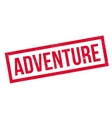 Adventure rubber stamp vector image
