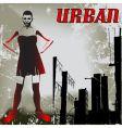 urban attitude vector image